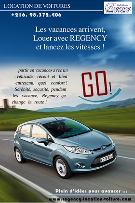 REGENCY RENT A CAR, Tunisie