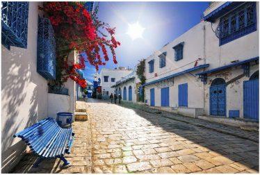 Sidi Bou Said, Voyage Tunisie
