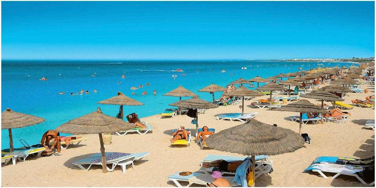 plages pour passer des vacances en amoureux en tunisie